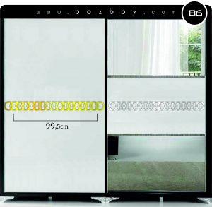 Dekoratif Pleksi Ayna B6