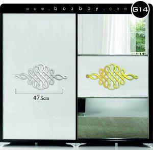 Dekoratif Mobilya Pleksi Ayna G14
