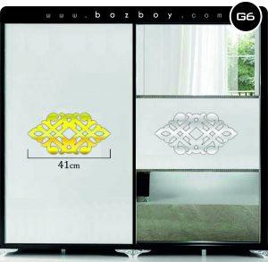 Dekoratif Mobilya Pleksi Ayna G6