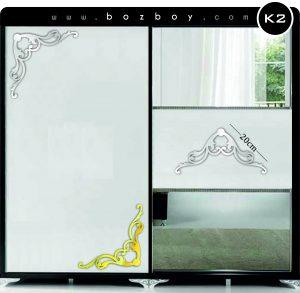 Dekoratif Pleksi Ayna Mobilya K2