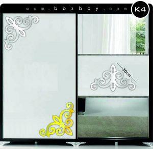 Dekoratif Pleksi Ayna Mobilya K4