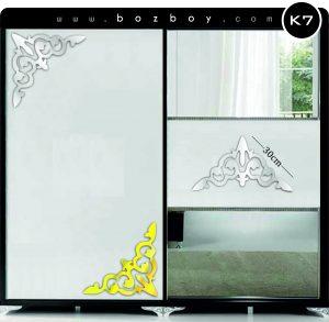 Dekoratif Pleksi Ayna Mobilya K7